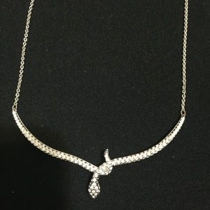 Swarovski Crystal Snake Necklace